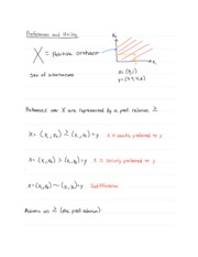 Intermediate Microeconomics Analysis Notes