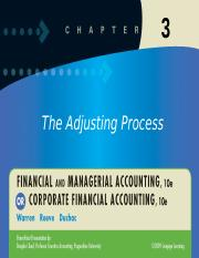 Accounting CH 3