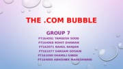 Group 7_Dot Com Bubble