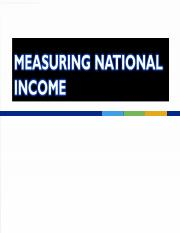 Topic 2 - Measuring National Income (2012).ppt