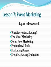 Lesson 7 - Event Marketing.pdf