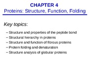 CHEM 3530 Chapter 4 Lecture Notes