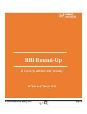 RBI RoundUp (26_Feb to 04_March)