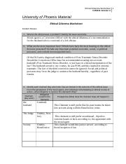 cja324r3 ethical worksheet Fall 08 ethical dilemmas what would you do 2: answer sheet if you have concerns at work – you most probably have a dilemma the longer you leave.