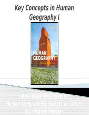 GEOG 1HA3 - Fall 2016 - Lecture 02 - Key Concepts in Human Geography I - student-A2L