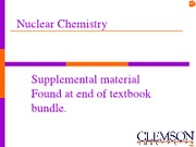 BB Chap. __ Nuclear Chemistry(1)