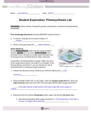 JHarmon Photosynthesis Lab.pdf - Name_Josh Harmon Date ...