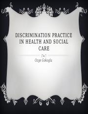 Discrimination practice in health and social care.pptx
