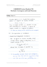 [RP]Lecture Note VII(temp)