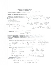 Math 1215 Lecture Notes September 25