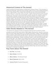 Aeneid dido essay