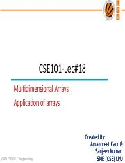 15901_application of array and 2D array.ppt