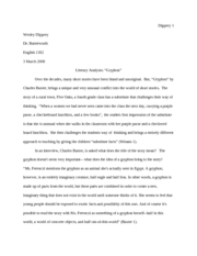 Gryphon Research Paper