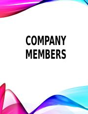 T8_COMPANY MEMBERS (1).ppt