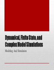 2 Dynamical, Finite State and Complex Model Simulation.pdf