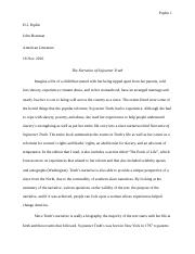 Sojoutner Truth paper