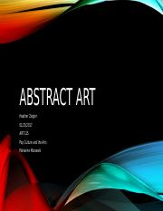Abstract Art Presentation Heather Ziegler.pptx
