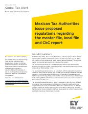 2016G_03754-161Gbl_Mexican TAs issue proposed regs regarding the master file, local file and CbC rep