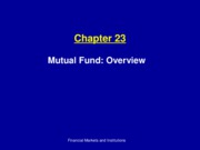 Ch23_Mutual Funds Overview