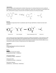 Lab 6 - Synthesis and Analysis of Aspirin