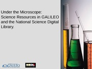 Science_Resources_GALILEO_and_NSDL_Jan09
