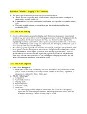 PSC 231- NOTES 3