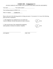 ENBUS 102 - Assignment 2 Template
