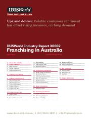 Franchising in Australia Industry Report (April 2015)(1).pdf