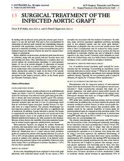 13 Surgical Treatment of the Infected Aortic Graft