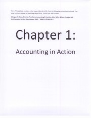Gr 12 Accounting - Excerpts from TB