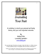 Journaling-your-past