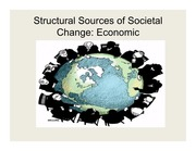 Lecture Slides 10 - Structural Changes in Economy
