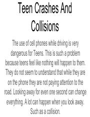 Teen Crashes And Collisions 1.pdf