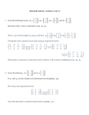 Classwork Activity 1-3 & 1-4 Solutions