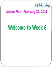 MKT 220 Lesson Plan Week 6 - Student.pptx