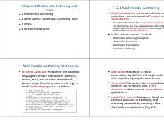 Unit_I_MM_Chap2_Multimedia autohring and tools