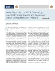 16 Nucor Corporation in 2014 Combating Low-Cost Foreign.pdf