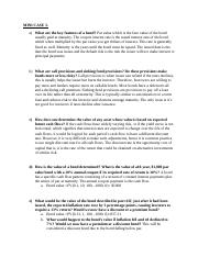 benchmark essay using the mini case information write a  2 pages