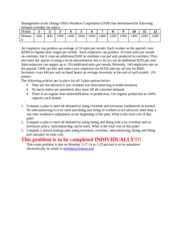 MGT 402 exam #2 production Plan Problem_spring14