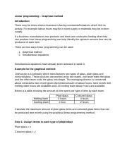 Linear programming - Graphical method.docx