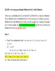 Sample Midterm Test 2 Solu Give to F15