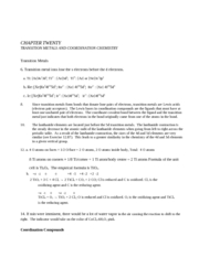 Chapter 20 Even Problem Solutions
