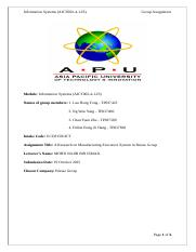 [OLD] Information System AICT002-3-1-IS-T Group Assignment