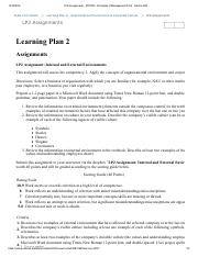 LP2 Assignments - MT2050 - Principles of Management WI16 - Section D04