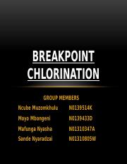 breakpoint chlorination.pptx