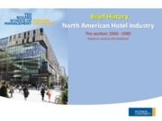 Lecture Hotel Industry for Property Management Systems