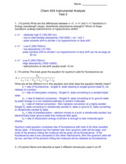 Exam 2 Solutions 2007