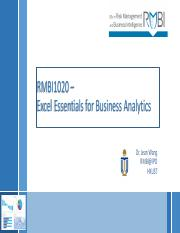 Of pdf essentials business analytics