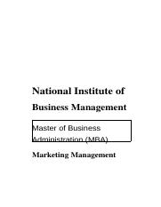 Marketing Management.rtf