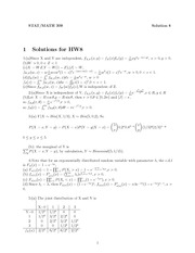 HW 8 Solutions